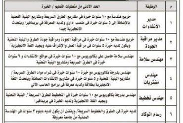 الهيئة الملكية في #الجبيل و #ينبع وظائف #مهندسين ومدراء رسام اوتوكاد ومدير مالي