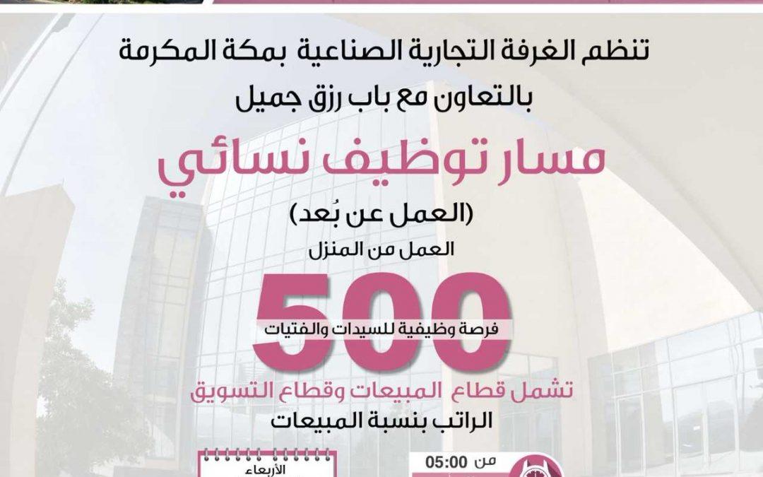 وظائف نسائية عن بعد في كل المناطق السعودية