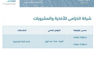 وظائف نسائية في الرياض خدمة عملاء  ومسؤولة توظيف وحجوزات